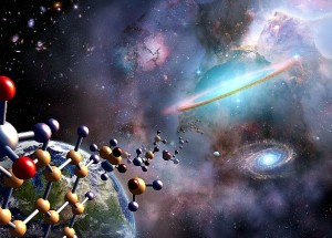 Moléculas de la vida en el gas de una estrella joven.