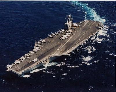 USSEisenhower_ataca_Siria