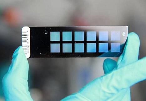Microceldas de DNA se utilizan para el diagnóstico y para estudiar la expresión de genes. Otro uso adicional es la del análisis del genoma. .© MPI of Psychiatry.