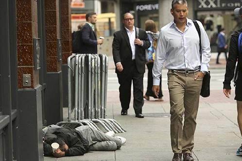 Más de 52.000 personas viven en la calle en New York - EE.UU