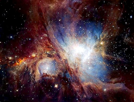 Resultado de imagen de Moléculas orgánicas halladas en la Nebulosa de Orión