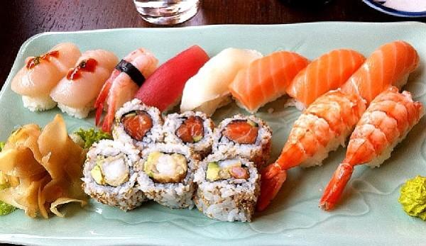 parásito de sushi en los estados unidos